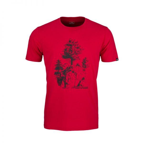 TR-3545OR Pánske tričko s prírodným motívom KARTER 3