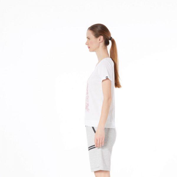 TR-4492OR dámske tričko bavlnené floral ANTINGONA 4