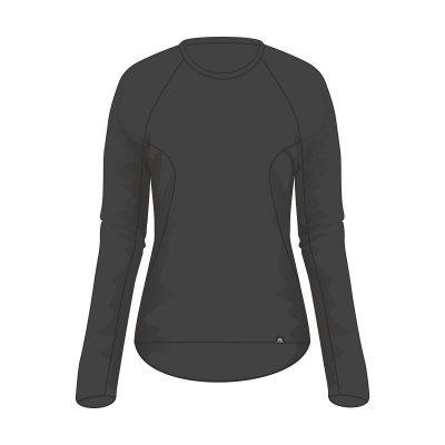 TR-4522OR dámske tričko základná vrstva s tepeľnou funkciou SAPERIA 7