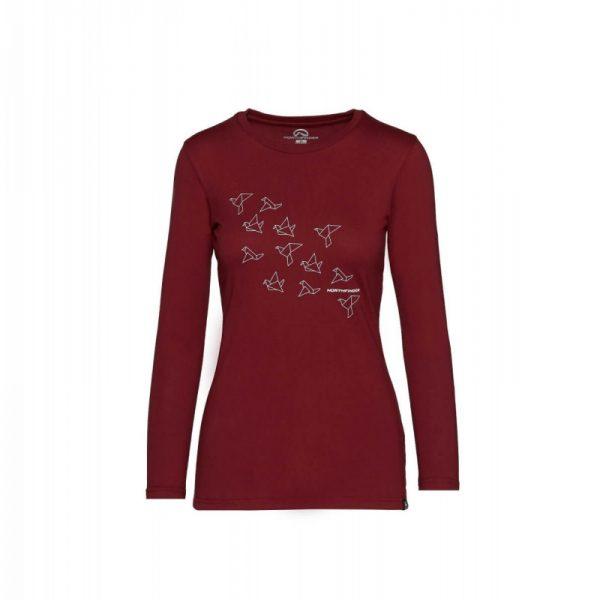 TR-4535SP dámske tričko bavlna s potlačou SEWIRA 4
