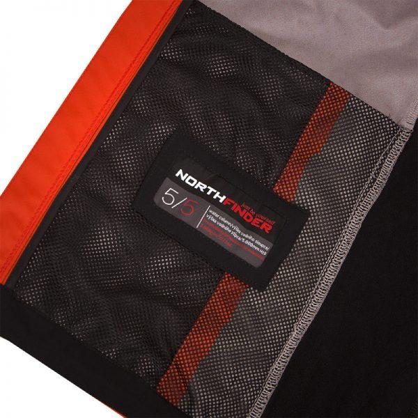 VE-3270OR pánska vesta pevný-softshell 3L ESTEBHAN 8