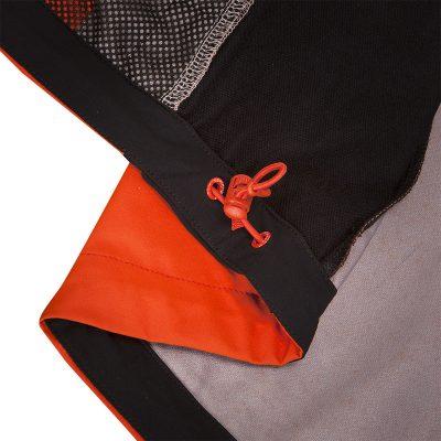 VE-3270OR pánska vesta pevný-softshell 3L ESTEBHAN 18
