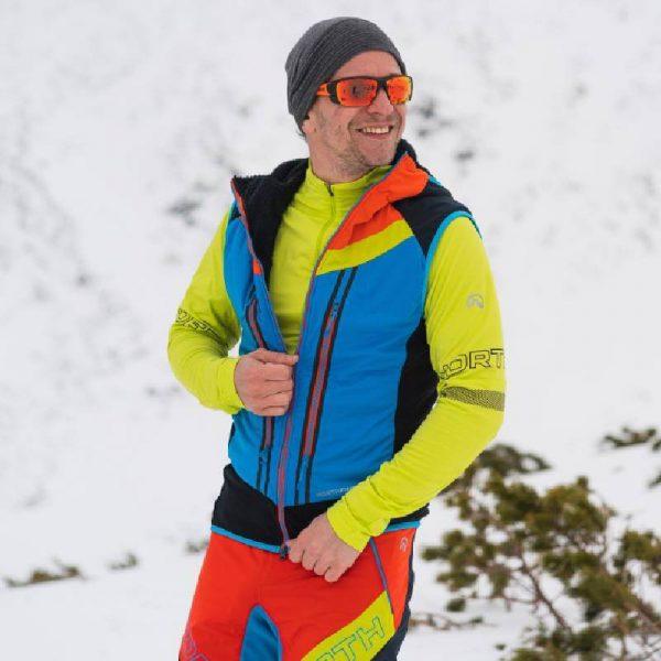 VE-3280SKP pánska vesta ski-turingová thermal Polartec Alpha direct 2,5L VHAN 3