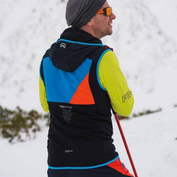 VE-3280SKP pánska vesta ski-turingová thermal Polartec Alpha direct 2,5L VHAN 5